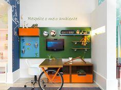 Bancada roda de bicicleta by Apronta www.casaprontaquartos.com.br