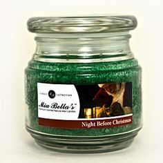Night before Christmas - that sitting by the fireplace on a snowy winter evening scent