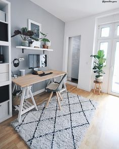 perfect contemporary office workspace design ideas 14 – Executive Home Office Design Cozy Home Office, Home Office Space, Home Office Design, Home Office Decor, Office Rug, Office Designs, Home Office Table, Home Design, Home Office Inspiration