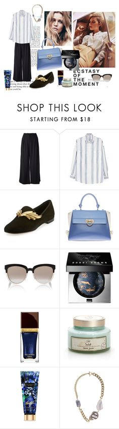 """""""Ricce"""" by nataal ❤ liked on Polyvore featuring Hedi Slimane, Chanel, MANGO, Giuseppe Zanotti, Salvatore Ferragamo, Christian Dior, Bobbi Brown Cosmetics, Tom Ford and Anton Heunis"""