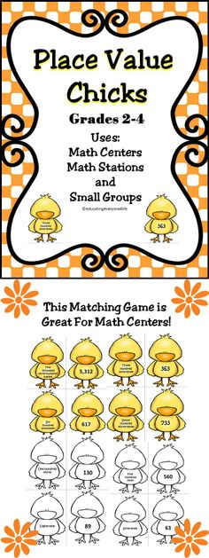 This Place Value Activity Is A Wonderful Addition To Classrooms - Use this place value activity in math centers, stations, or as a whole class lesson.
