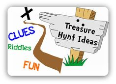 """Another pinner says, """"We did this for our Easter Gift Hunt. The kids (and I) loved this!"""" Real Treasure Hunts: Cryptic Treasures: Treasure Hunt Clues For Around The House Pirate Birthday, Pirate Party, Birthday Ideas, Puppy Birthday, Birthday Games, Pirate Theme, 10th Birthday, Birthday Parties, Treasure Hunt Riddles"""