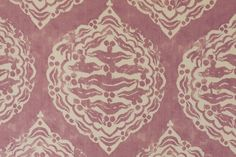 Penny Morrison Mander Fabric in Pink