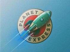 The Planet Express by Michael Fugoso