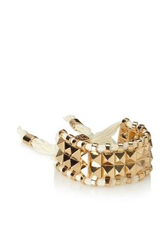35% OFF Rolf Bleu Stud Cuff Collection Bracelet, Cream