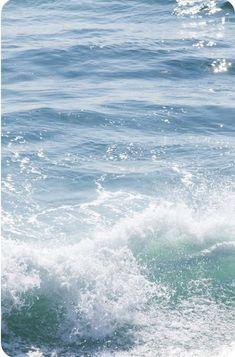 Water Waves, Ocean Waves, Sea And Ocean, Ocean Beach, Sand Beach, Le Grand Bleu, All Nature, Beautiful Beaches, Seaside