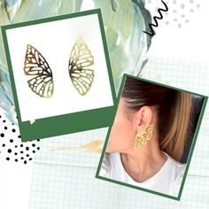 Accesorios hechos a mano con mucho amor Polaroid Film, Amor, Handmade Accessories, Stud Earrings, Hand Made