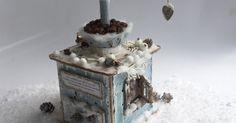 """Darilna škatlica """"Kavni mlinček"""" - Paper Coffee Grinder"""