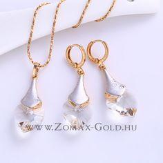 Rubina szett - Zomax Gold divatékszer www. Drop Earrings, Gold, Jewelry, Jewlery, Jewerly, Schmuck, Drop Earring, Jewels, Jewelery