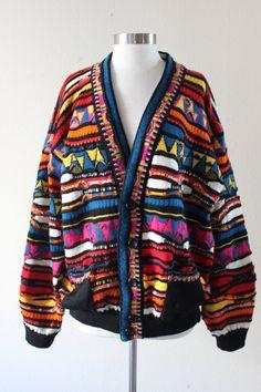 Rare Vintage 1980s Black Label Coogi Sweater by VintageRosemond