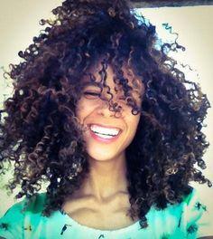 Simply beautiful natural curly hair