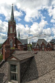 Soulard rooftop - St. Louis, MO