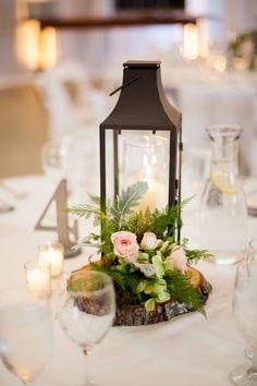 An Elegant Blush and Gray Barn Wedding