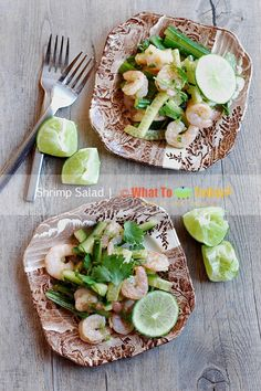 SHRIMP SALAD WITH ENGLISH CUCUMBER. Just don't lose this recipe!! Read more...