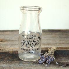 antique milk jars
