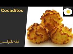 YouTube Coconut Macaroons, Reyes, Cake Cookies, Food To Make, Muffin, Snacks, Breakfast, Desserts, Chicken Fillet Recipes