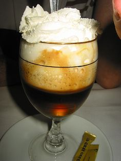 Irish Coffee is a delicious drink no matter your nationality or heritage. It's ideal for any occasion. Irish Coffee, Irish Whiskey, Coffee Coffee, Coffee Girl, Great Recipes, Favorite Recipes, Yummy Recipes, Bar Recipes, Drink Recipes
