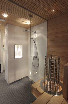 Bathroom Renos, Bathrooms, Sauna Design, Saunas, Wooden House, Next At Home, Laundry Room, New Homes, Nashville