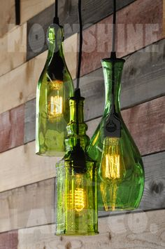 Items similar to Recycling-Flasche Kronleuchter - The Harmony on Etsy