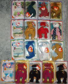 557a44a3667 Teenie Beanies 441  2000 Mcdonald S Teenie Beanie Babies Complete Set Of 1  +2