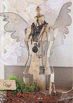 angel dress form