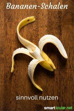 Jährlich verzehren wir im Schnitt mehr als 10 kg Bananen! Die Schalen gehören aber nicht auf den Müll: sie können sehr sinnvoll weiter verwendet werden.