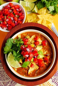 Chicken Tortilla Soup by iowagirleats #Soup #Chicken #Tortilla