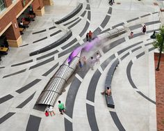 """Exhale"" is an interactive installation that draws viewers in with colorful LED light shows and fog effects that emanate through layers of p..."