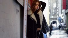 behind the scenes barbara palvin gif