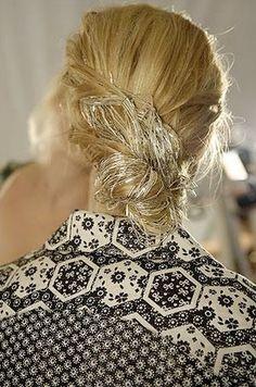 Interesting hair accessory!