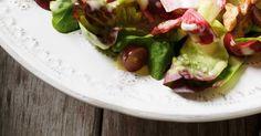Salade d'endives et de laitue Boston
