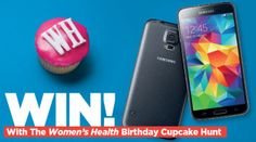 Win A Samsung S5 In The Cupcake Challenge