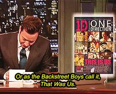 When he got real about boy bands: | 21 Times Jimmy Fallon's Thank You Notes Said Exactly What You Were Thinking