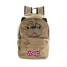 Pug Backpack.