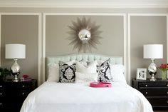 Bedroom + panelling