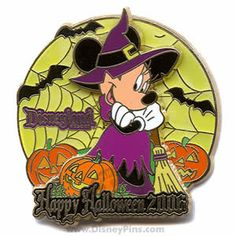 Minnie Mouse Halloween Collectible Pin - 2006
