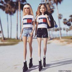 You can now buy a Gigi Hadid Barbie - Vogue Australia The likeness is uncanny. Barbie Style, Barbie Girl, Barbie Fashionista Dolls, Barbie Model, Doll Clothes Barbie, Barbie Dress, Barbie Baba, Barbie House, Girl Dolls