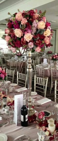 Beautiful table centrepiece