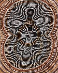 Shorty Lungkarta Tjungurrayi joined the Western desert movement in He was not one of the founding members but but the bold visual simplicity of his Aboriginal Dot Painting, Aboriginal Artists, Aboriginal Culture, Indigenous Art, Native Art, Tribal Art, Textures Patterns, Art Lessons, Illustration Art
