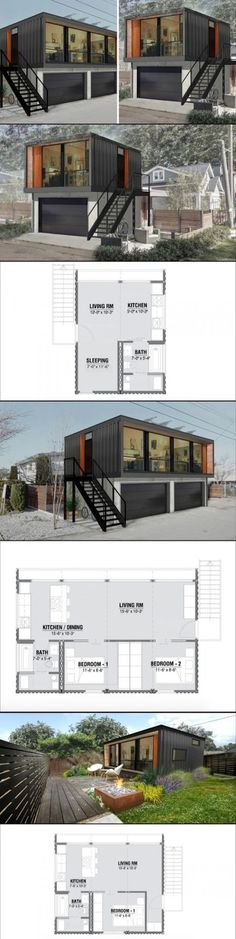 mytinyhousedirectory: HONOMOBO Beautiful Modern Modular Homes