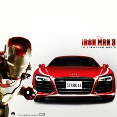 Iron Man has phenomenal taste in cars #AudiR8