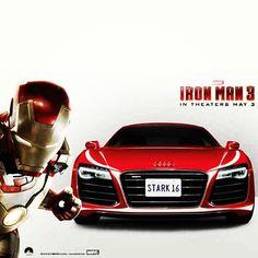 Iron Man has phenomenal taste in cars #AudiR8