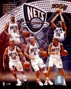 Old school New Jersey Nets.