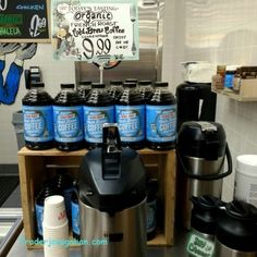 Trader Joe's | Organic French Roast Cold Brew Coffee Concentrate | 946ml  $9.99 #traderjoes #organic #frenchroast #coldbrew #coffee