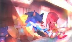 i can't think of a title sorry by holoskas on DeviantArt Sonic 3, Sonic And Amy, Sonic Fan Art, Shadow The Hedgehog, Sonic The Hedgehog, Rouge The Bat, Sonic Heroes, Sonic Fan Characters, Shadow Art