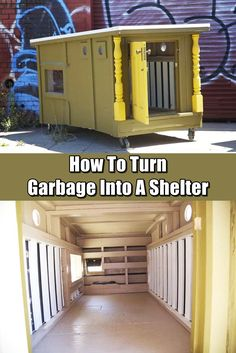 How To Turn Garbage Into A Shelter - Inspired by good people that actually help build these tiny shelters for the homeless, we all could take some advice and build one for a bug out location.