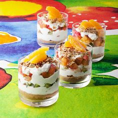 The Very Hungry Caterpillar Trifle