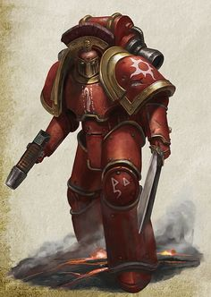 Warhammer 40k artwork: Photo