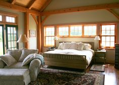timber frame bedrooms