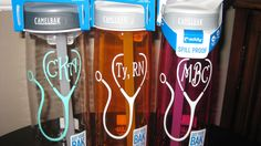 Super FAST  Nurse NONINSULATED Camelbak personalized waterbottles by AliciaBeam on Etsy https://www.etsy.com/listing/179303973/super-fast-nurse-noninsulated-camelbak